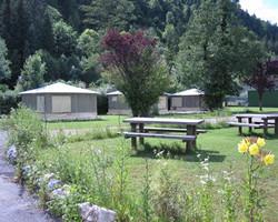 Camping Nantua Bungalow