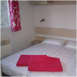 Camping Nantua MH chambre