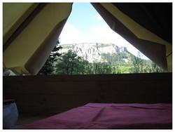 Camping Nantua Bivouac perché