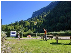 Camping Nantua vue générale
