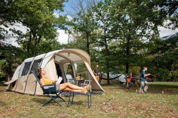 Pack prêt à camper