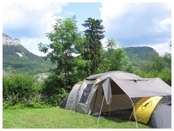 Camping Nantua tente
