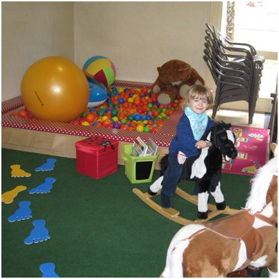 Camping du signal salle jeux enfants