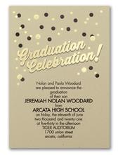 Graduation  Celebration Invitation