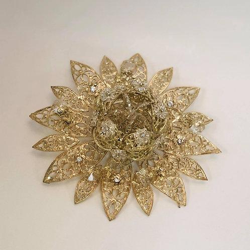 Wedding Arras - Arras de boda - Gold Open Flower