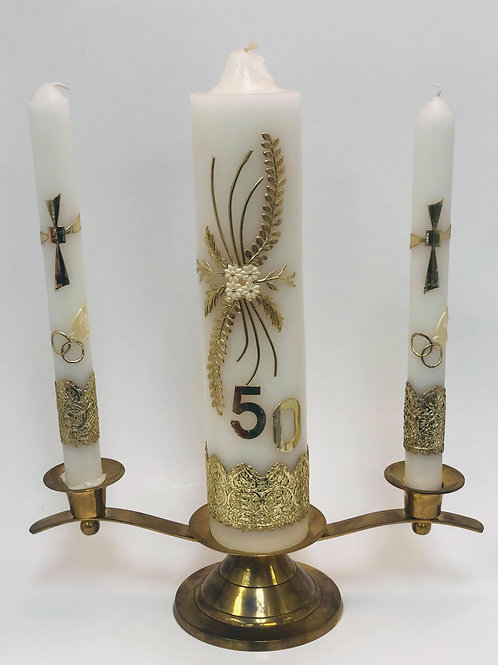 Set Candle - 50th Anniversary