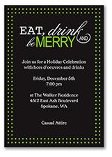 Merry Dinner invitation