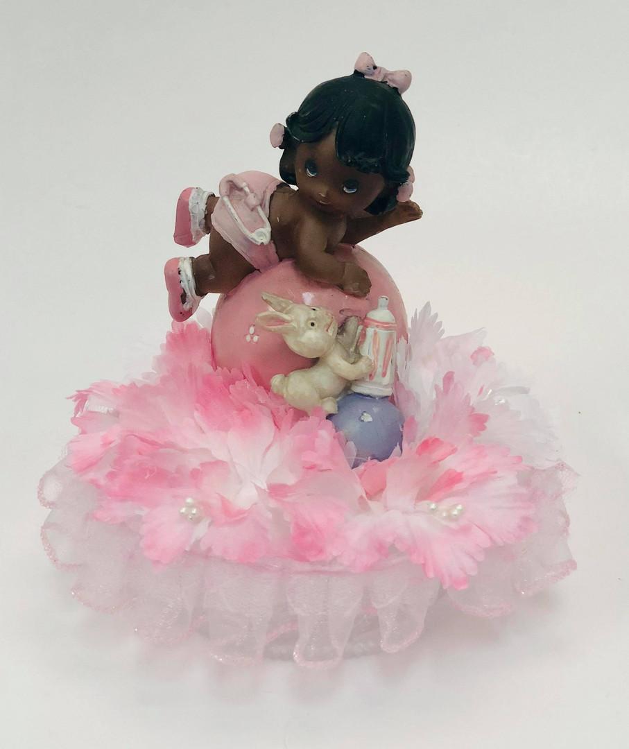 Cake topper Little Girl