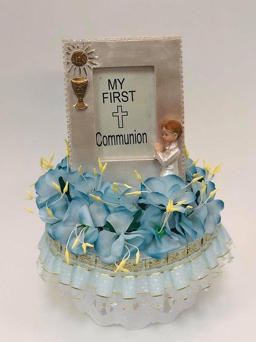 My first communion portrait