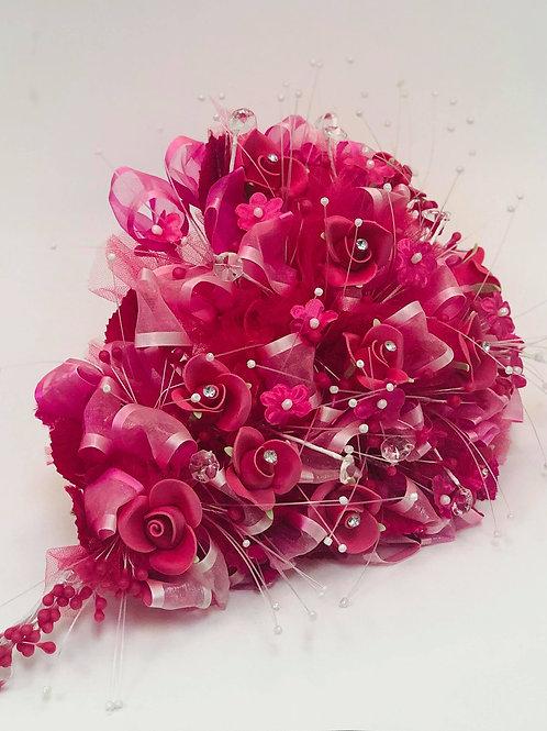 Hot Pink Flower Bouquet