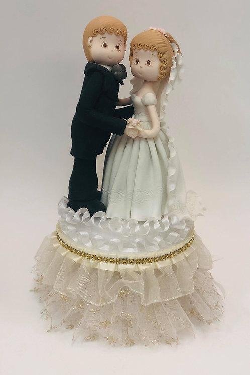 Gold Couple Wedding