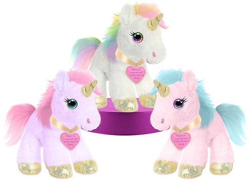"10"" Unicorn Plush"