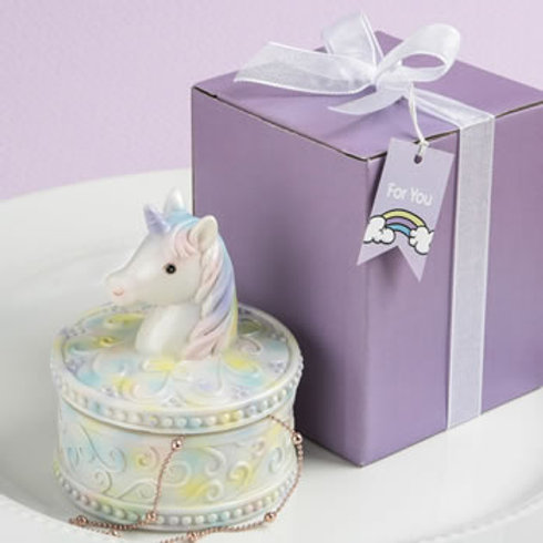 DELIGHTFUL UNICORN DESIGN JEWELRY / GIFT BOX FROM FASHIONCRAFT