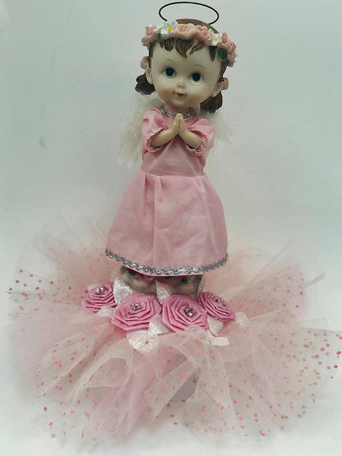 Praying Girl - Light Pink