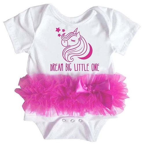 Popatu Baby Tutu Bodysuit Dream Unicorn
