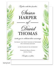 Weeding Invitation
