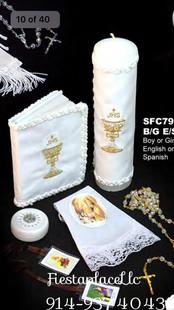 Set de velas y accesorios