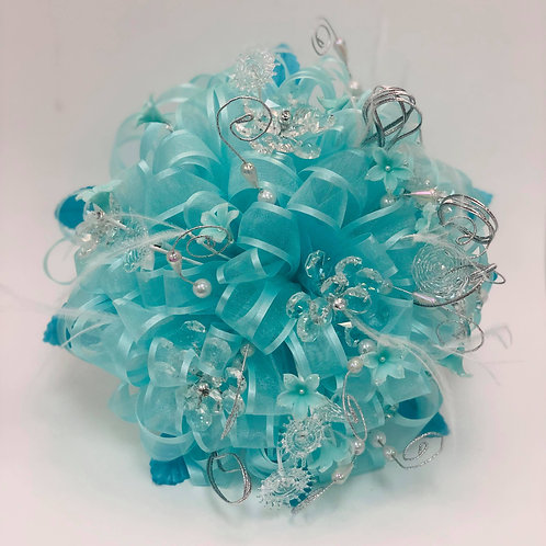 Bouquet and Corsage Turquoise