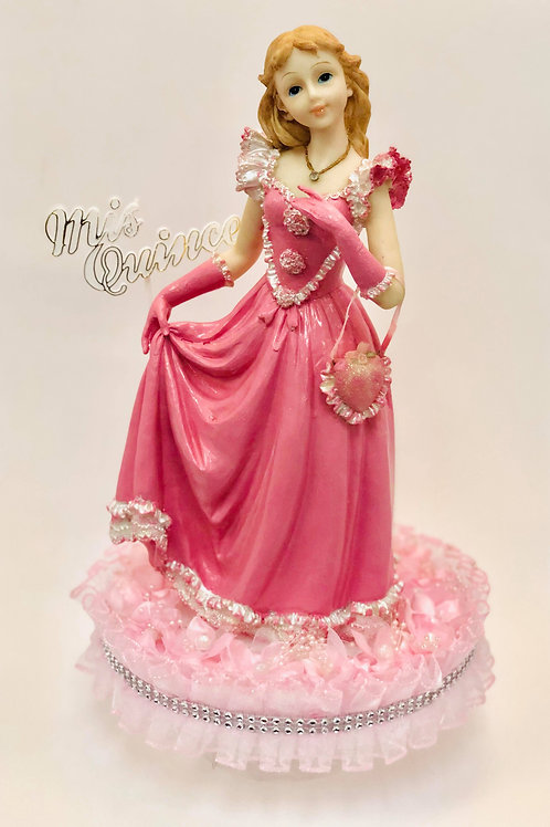 Muñeca Rosa Mis Quince