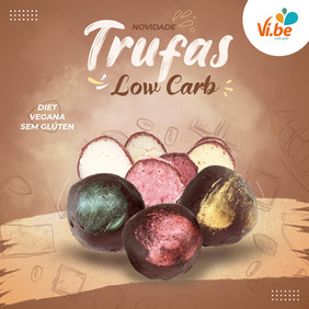 Trufas Low Carb -Vibe Food