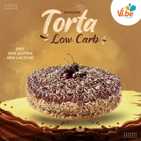 Torta Low Carb -Vibe Food