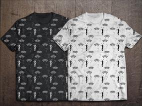 Camiseta composição