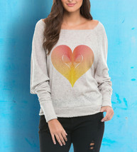 Camisa feminina coração