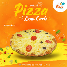 Pizzas Low Carb -Vibe Food