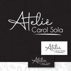 Logo Ateliê Carol Sola