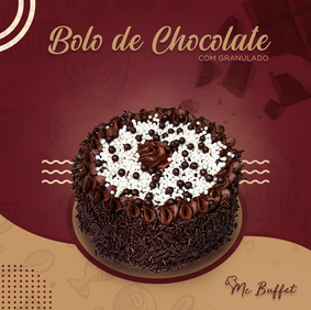 Bolo de Chocolate Mc Buffet