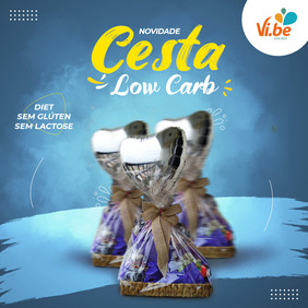 Cesta Low Carb - Vibe Food