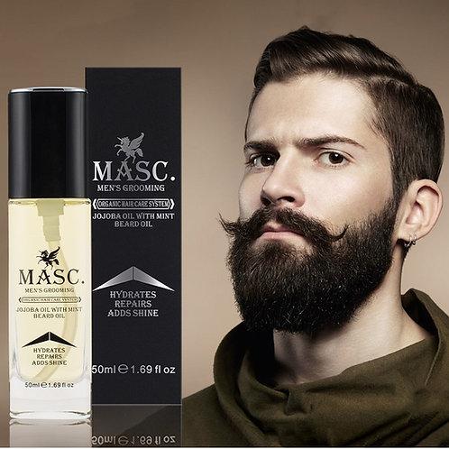 Huile pour la pousse et l'entretien de la barbe - 50 ml