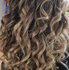 #stähnentechnik #strähnen #curls #crazyc