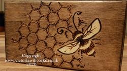 Bee Trinket Box Victoria Willcocks (2)