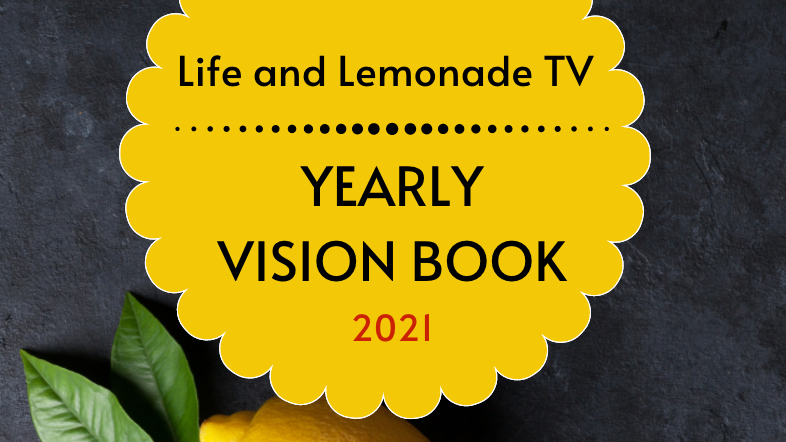 Yearly Vision Book 2021