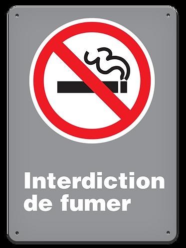 Interdite - Interdiction de fumer