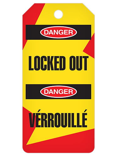 LOCKOUT Tag Roll  -  Locked Out (English/French)