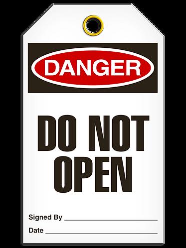 DANGER - Do Not Open