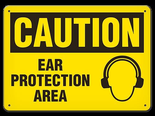 Caution - Ear Protection Area