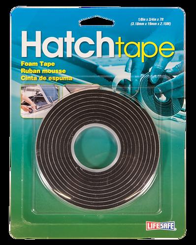 """Hatch Foam Tape 0.75"""" x 7ft (Black)"""