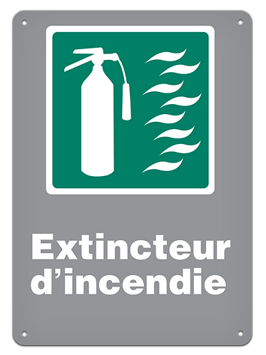 Urgence - Extincteur d'incendie