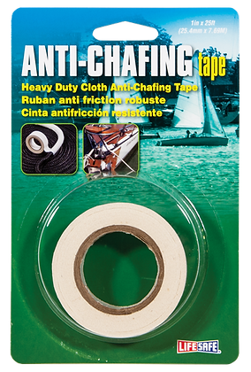 "Anti-Chafing Tape 1"" x 25ft (White)"