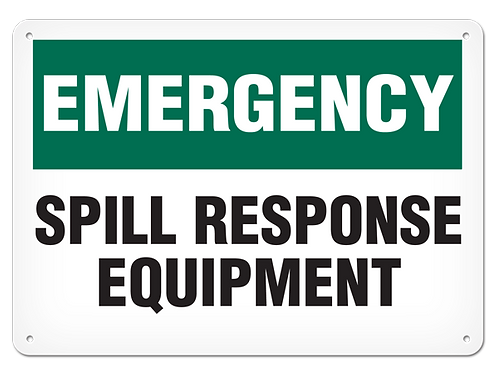 Emergency - Spill Response Equipment