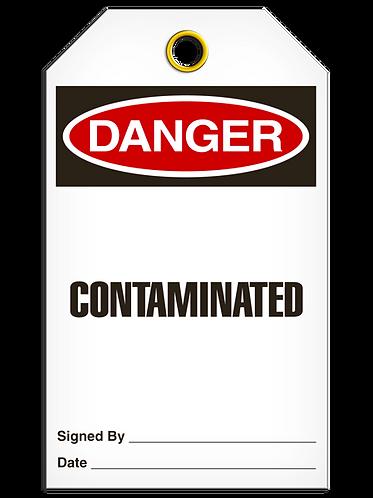 DANGER - Contaminated