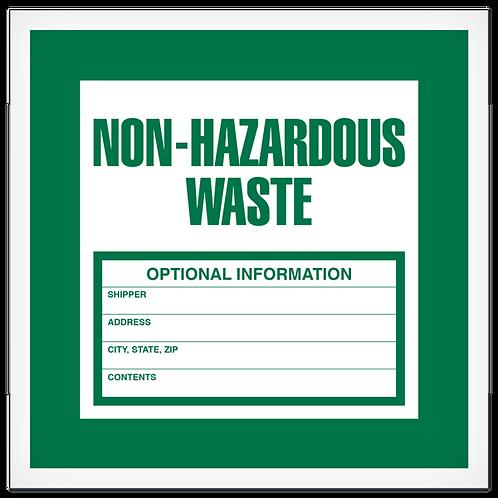 Non-Hazardous Waste