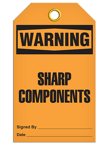 WARNING - Sharp Components