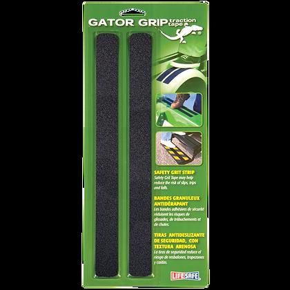 "Gator Grip® Anti-Slip Safety Grit Strip 1"" x 12"" (Black)"