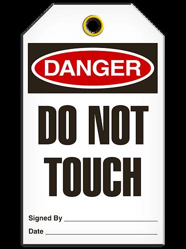 DANGER - Do Not Touch