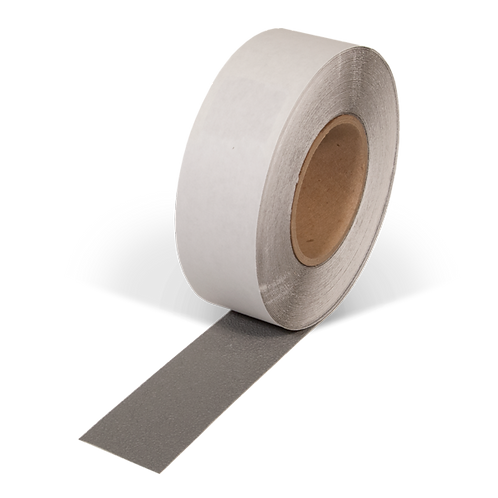 """2"""" x 50' Rubberized Resilient Anti-Slip Tape (Gray)"""