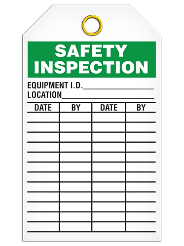 Inspection  -  Safety